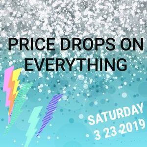 Price drops on everything in my closet!